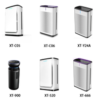light purification air purifier with disinfection