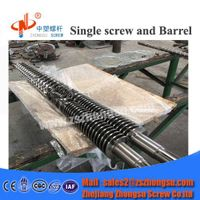 PVC Foam Extrusion Twin Conical Screw and Barrel