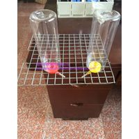 chicken nipple drinker with cup poultry water drinker feeder thumbnail image