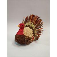 natural turkey decoration thumbnail image