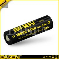 Basen 18650 battery 18650 3100Ah 40A basen battery for box mod vapor li-ion 18650 3100/3500/2800/260