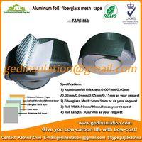 Aluminum foil fiberglass mesh tape pipeline insulation foil tape thumbnail image