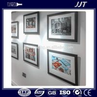MODERN DESIGN COLOR ANODIZED ALUMINUM DECORATIVE PROFILE FOR PHOTO FRAME