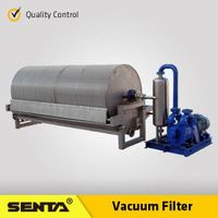 Solid Liquid Separation Equipment mineral processing Beneficiation Machine Rotary Vacuum Fliter thumbnail image