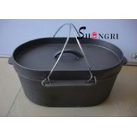 SR052 Shengri New Dutch Ovens Cast Iron Cookware For Outdoor Cooking thumbnail image