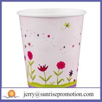 cheap single wall paper 12oz cup