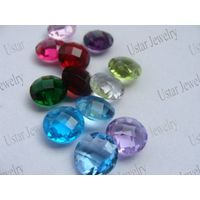 Free Sample Synthetic Gemstones for Jewelry Findings