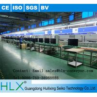 free flow chain Assembly line conveyor system