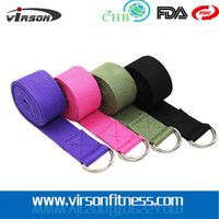 100% Cotton Yoga Strap Yoga Belt Carry Strap