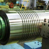 OEM CNC Machining Sleeve Coupling Drive Screw Stepped Steel Shaft