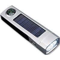Solar flashlights