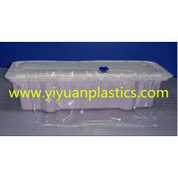 Plastic dispenser for cling film aluminum foil baking paper roll material