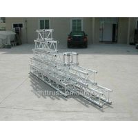 2013 fashional exhibition aluminum stage truss square two sides corner