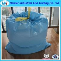 Hot Sale PE Plastic Draw String Garbage Bags at Factory Price