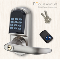 Keyless Entry Electronic Door Locks Commercial Residential Locksmith Remote Controller Door Locks