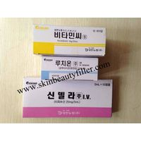 Original Korean Cinderella Skin Whitening Injection 600mg Pack