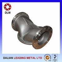 Ductile Iron Casting Pipe Fittings with Finishing Service