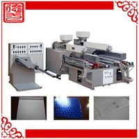 air bubble packing line