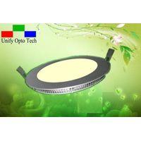 Slim 9mm LED Round panel light/Down light 12W