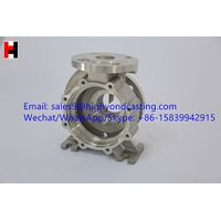 Hot sale investment casting steel casting pump body thumbnail image