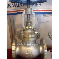 API stainelss steel globe valve