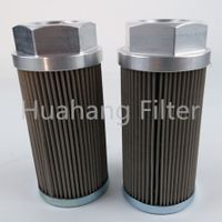 125 Micron Equivalent Stainless Steel Wire Mesh Hydac Suction Oil Filter Element 0050s125w