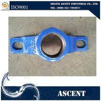 Ductile iron saddle for PVC pipe thumbnail image