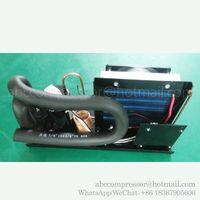 DC 12V 24V 48V mini refrigeration system condensing unit with r134a dc 12v 24v 48v mini compressor thumbnail image