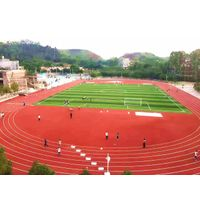Full Pour Athletic Track and Field