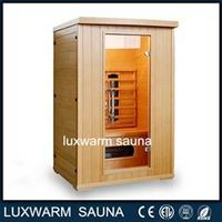 2 Person Canadian Hemlock Ceramic Heaters Portable Far Infrared Sauna Rooms