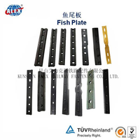 Railway fish plate with rail fish bolt washer nut thumbnail image