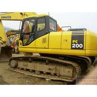 used excavator komatsu PC200,used excavator,excavator komatsu