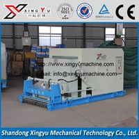 Precast concrete slab forming machine