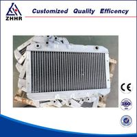 Continuous Brazing Tube Fin Intercooler Radiator