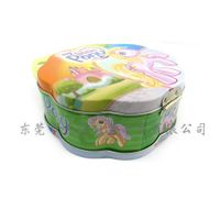 oem kids unique shaped cookie tin box factory