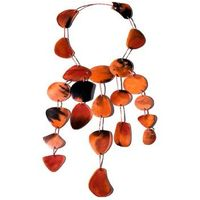 Horn Necklace With Dyed Colour Horn thumbnail image