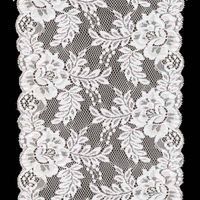 stretch jacquardtronic lace trim