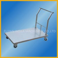 Sheet Metal Platform Cart Hand Trolley Folding Trolley