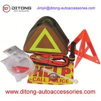 28 PCS Triangle Bag Vehicle Car Emergency Tools Kit