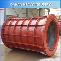 Concrete cement pipe making machine culvert pipe making machine