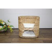 Water hyacinth pet basket for dog bed, cat bed-SD8469A-1NA
