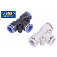 High Quality Plastic pipe tube Pneumatic Fitting