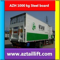 Cantilever tail lift for truck