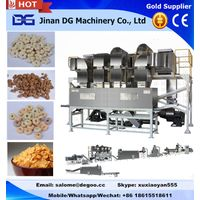 200-250kg twin screw extruder for making cereal corn flakes snack food thumbnail image