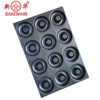 High quality baking pan classic non-stick donut baking tray