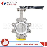 Stainless steel lug butterfly valve thumbnail image