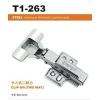 Hydraulic Iron hinge concealed clip on