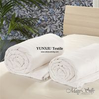 mulberry silk filled cotton cover silk comforter high quality with low MOQ