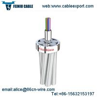 Single Mode Ground Wire OPGW Fiber Optic Cable thumbnail image