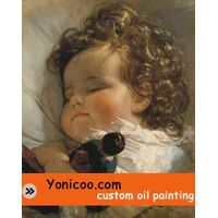 Custom oil painting thumbnail image